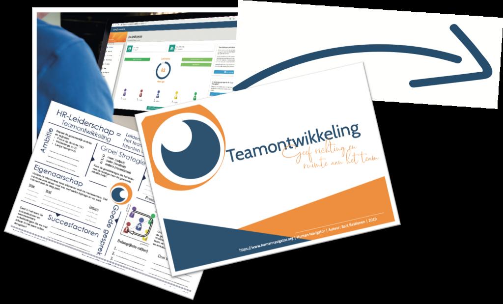 Teamontwikkeling e-boek in zes stappen